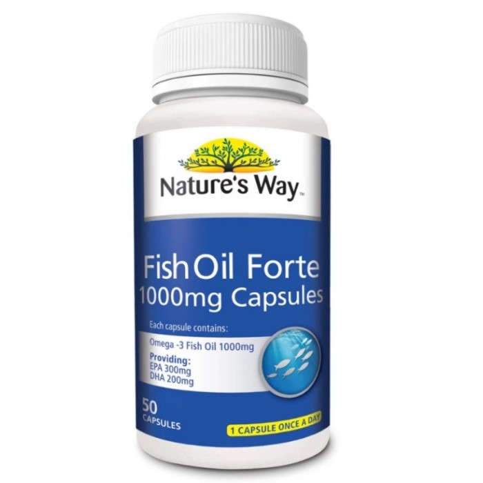 Nature S Way Fish Oil Mg Review